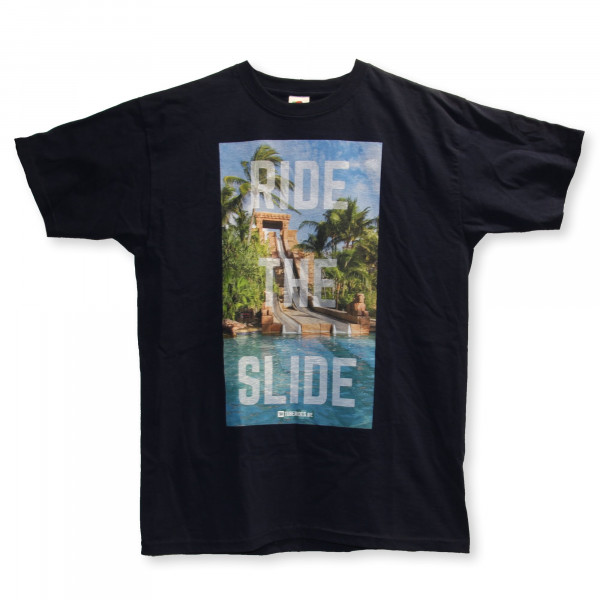 "TUBERIDES T-Shirt ""RIDE THE SLIDE"""